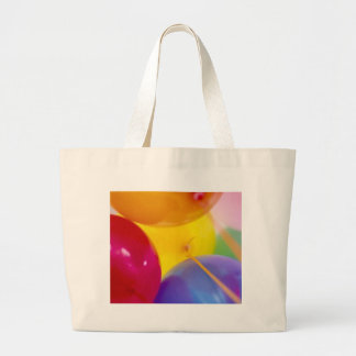 happy birthday balloons tote bags