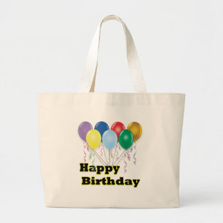 Happy Birthday Balloons D3 Tote Bag
