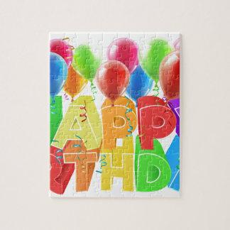 Happy Birthday Balloons Jigsaw Puzzle