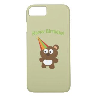 Happy Birthday Bear iPhone 7 Case