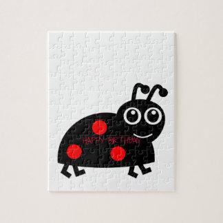 Happy Birthday Beetle Jigsaw Puzzle