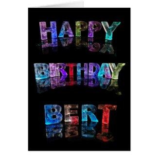 Happy Birthday Bert Card
