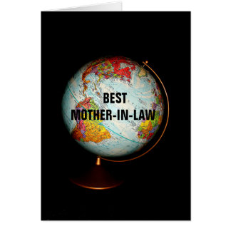 Happy Birthday Best Mother-In-Law On Earth! Greeting Card