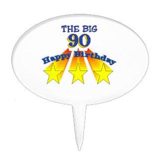 Happy Birthday Big 90 Cake Topper
