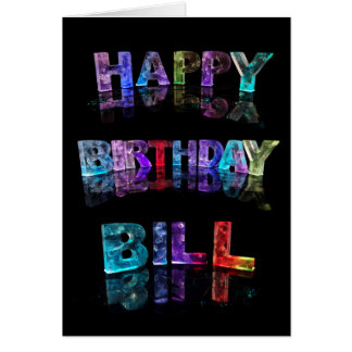 Happy Birthday Bill Card