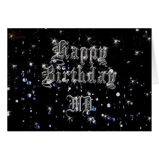 Happy Birthday Bling Greeting Card