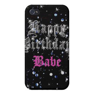 Happy Birthday Bling iPhone4 iPhone 4 Cases