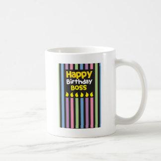 Happy Birthday BOSS! Basic White Mug