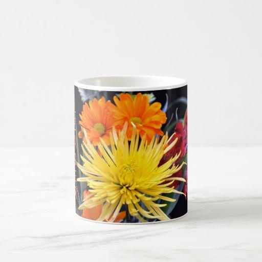 Happy Birthday Boss Floral Mugs