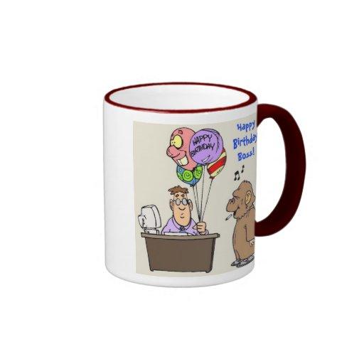 Happy Birthday Boss Coffee Mug