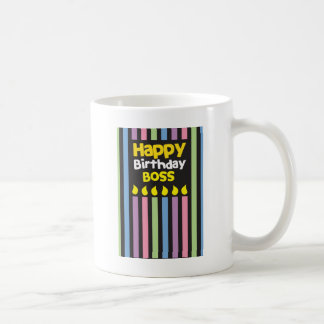 Happy Birthday BOSS! Coffee Mugs