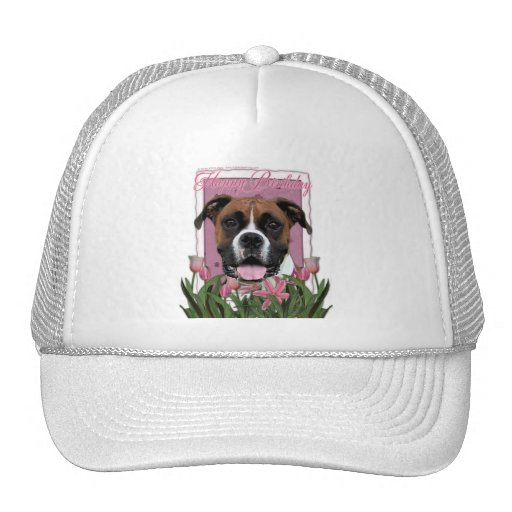 Happy Birthday - Boxer - Vindy Mesh Hats