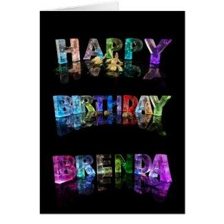 Happy Birthday Brenda Card