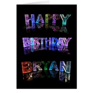 Happy Birthday Bryan Card