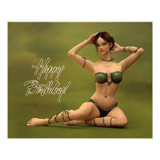 Happy Birthday Bryonia 11.5 Cm X 14 Cm Flyer