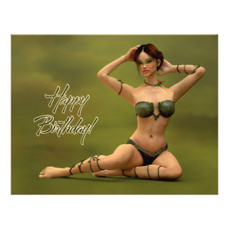 Happy Birthday Bryonia 21.5 Cm X 28 Cm Flyer