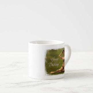 Happy Birthday Bryonia Espresso Mug