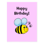 Happy Birthday! (bumble bee)