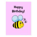 Happy Birthday! (bumble bee) Postcards