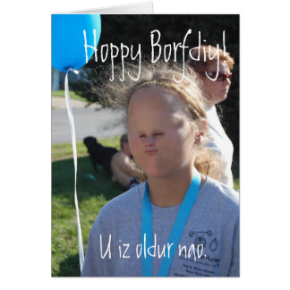 Happy Birthday by Fronk Greeting Card