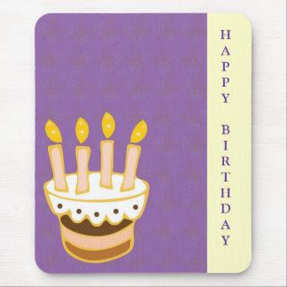 Happy Birthday Cake Mouse Pad