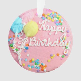 Happy Birthday Cake Ornament