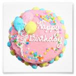Happy Birthday Cake Photo Prints