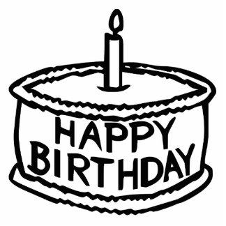 Happy Birthday Cake Photo Sculpture