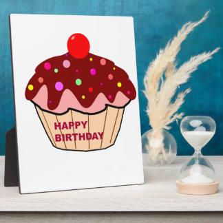 Happy Birthday Cake Plaque