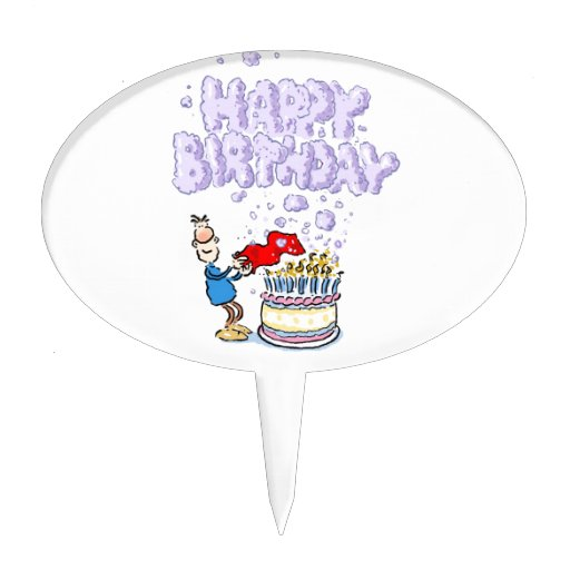 Happy Birthday! Cake Toppers