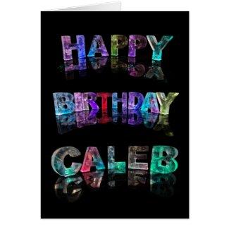 Happy Birthday Caleb Card