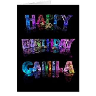 Happy Birthday Camila Card