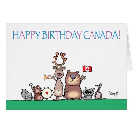 Happy Birthday Canada! by harrop - 150-11 Card