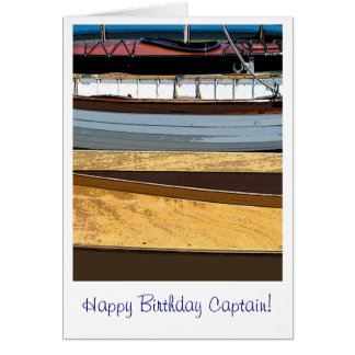Happy Birthday Captain! Card