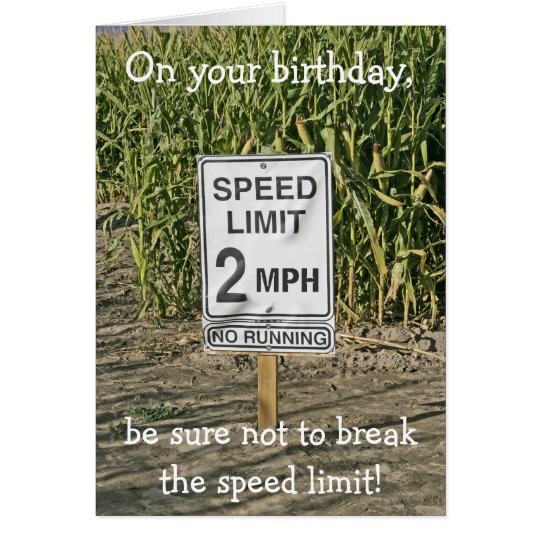 Happy Birthday Card-Get in Gear Card