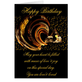 Happy Birthday_Card Note Card