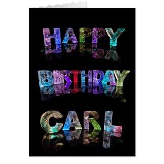 Happy Birthday Carl Card