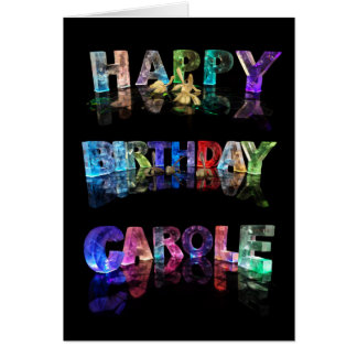 happy birthday carole cards photo card templates invitations more. Black Bedroom Furniture Sets. Home Design Ideas