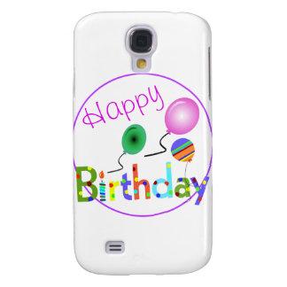 Happy Birthday Samsung Galaxy S4 Cases