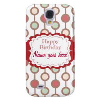 Happy Birthday Samsung Galaxy S4 Covers