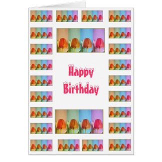 Happy Birthday  - Change Text for other Occassions Note Card