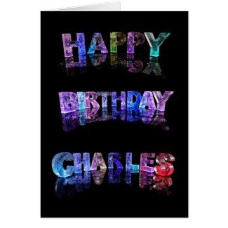 Happy Birthday Charles Card
