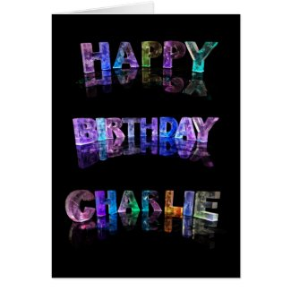 Happy Birthday Charlie Card