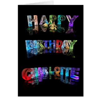 Happy Birthday Charlotte Card