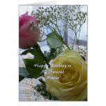 Happy Birthday Christian Card Roses Mother