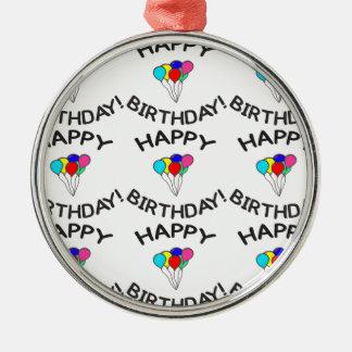 Happy Birthday! Christmas Ornament
