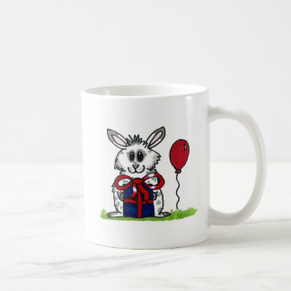 'Happy Birthday!' Chubby Bunny Design Coffee Mug