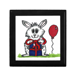 'Happy Birthday!' Chubby Bunny Design Gift Box