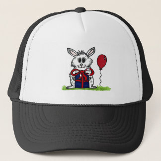 'Happy Birthday!' Chubby Bunny Design Trucker Hat