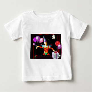 happy birthday clown1 baby T-Shirt